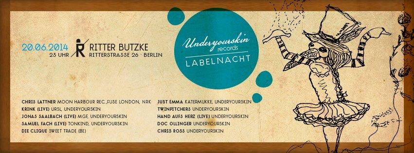 UYSR - Labelnacht at Butzke
