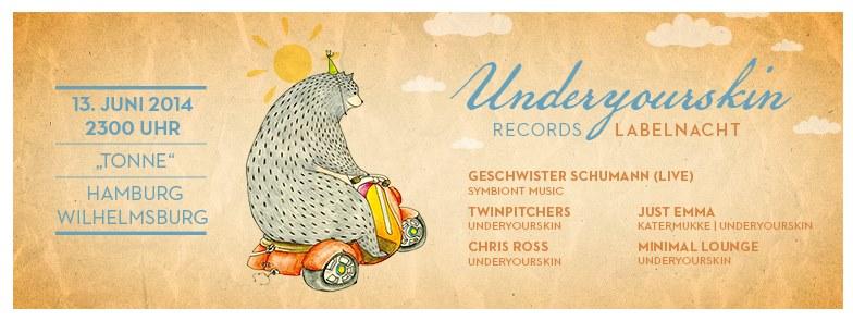 UnderYourSkin Label Nacht
