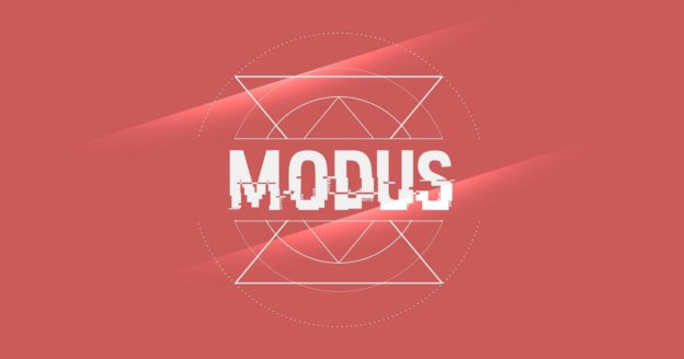 """Flyer zur Veranstaltung """"Modus"""" in der Melancholie"""